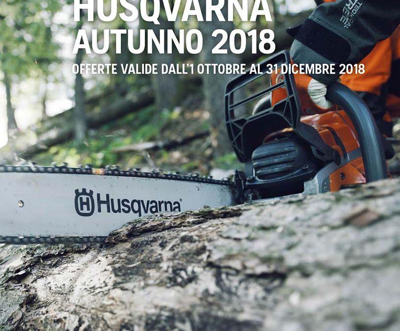 Volantino Husqvuarna 2018