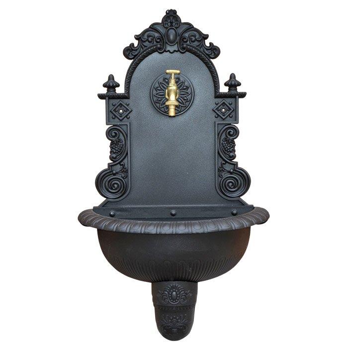 Fontana da parete in ghisa Ardenno